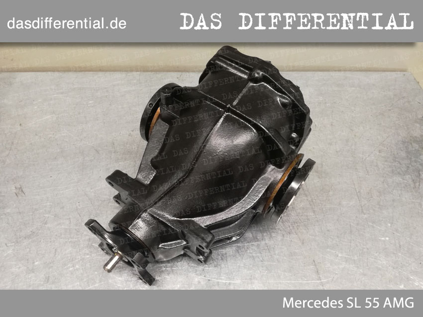 Heck Differential Mercedes SL 55 AMG 1