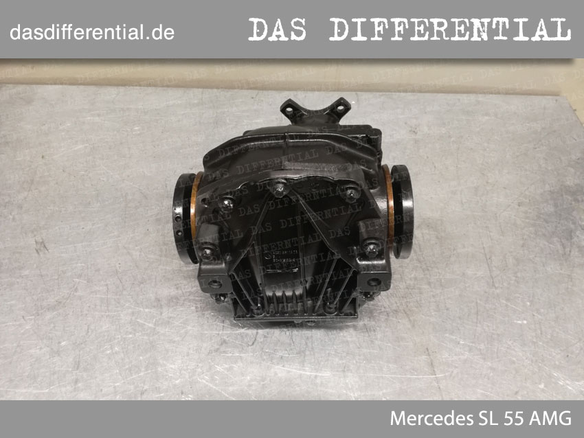 Heck Differential Mercedes SL 55 AMG 2