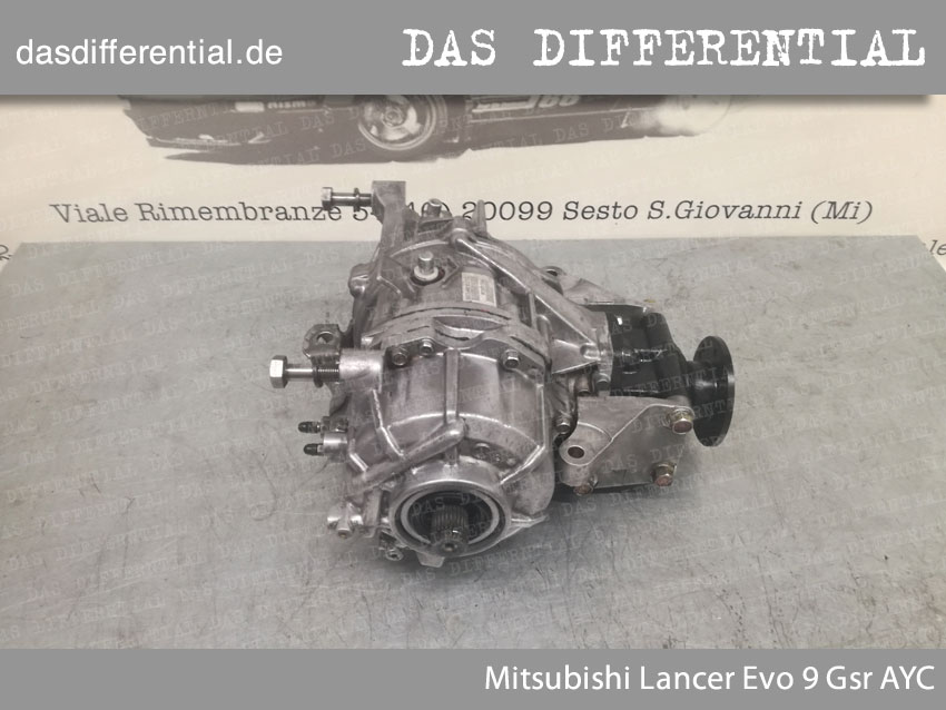 Differentialgetriebe Mitsubishi Lancer Evo 9 Gsr AYC
