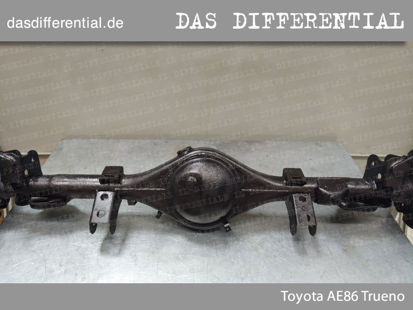 Toyota AE86 Trueno HECK DIFFERENTIAL 1